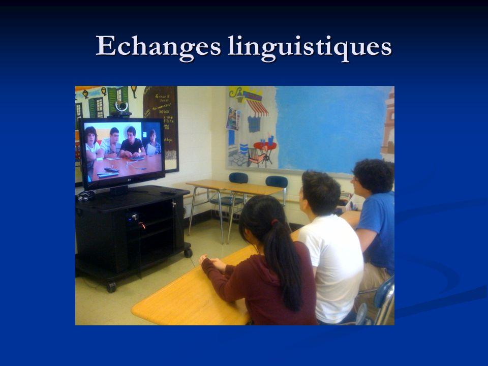 Echanges linguistiques