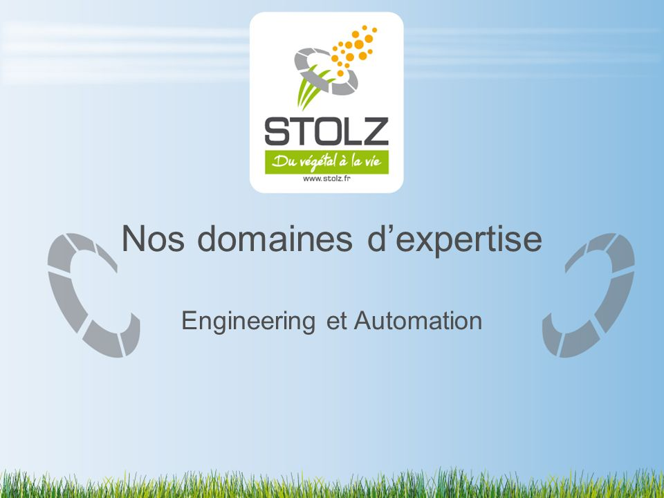 Nos domaines d'expertise Engineering et Automation