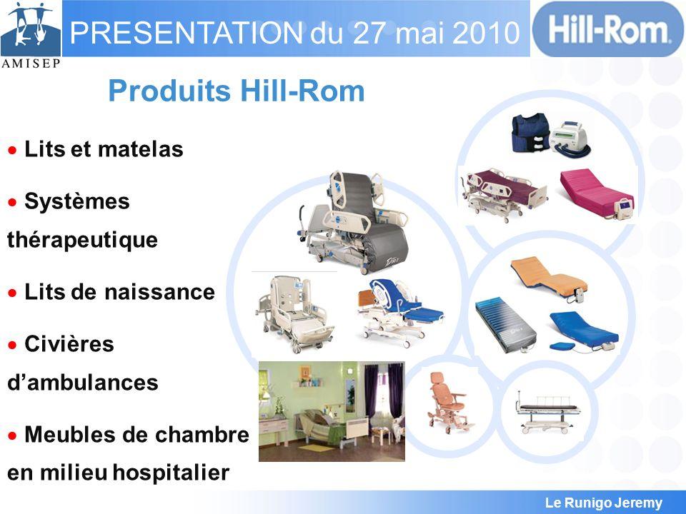 Produits Hill-Rom Lits et matelas Systèmes thérapeutique