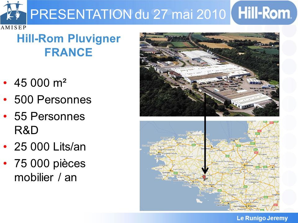 Hill-Rom Pluvigner FRANCE
