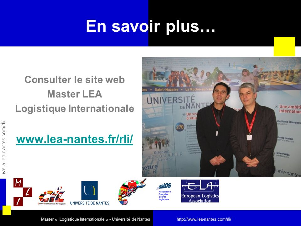 Logistique Internationale
