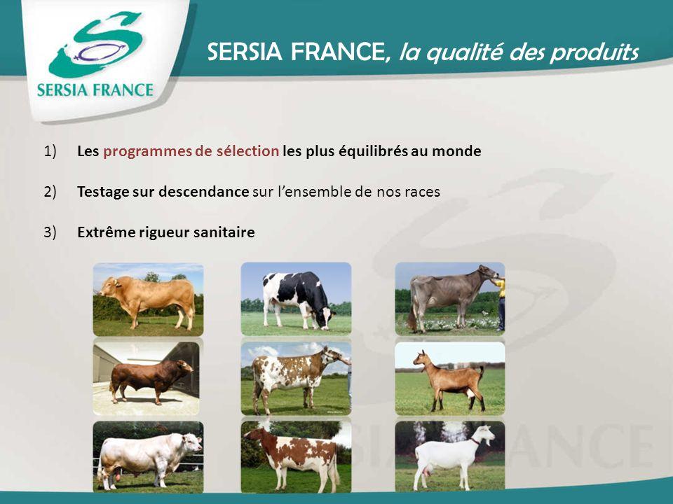SERSIA FRANCE, la qualité des produits