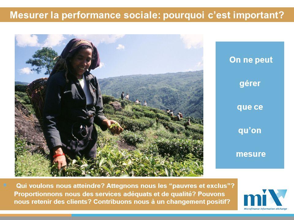 Mesurer la performance sociale: pourquoi c'est important