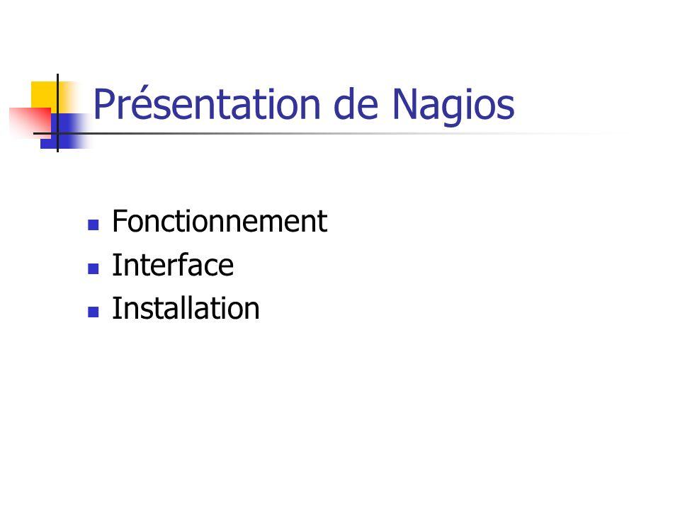 Présentation de Nagios
