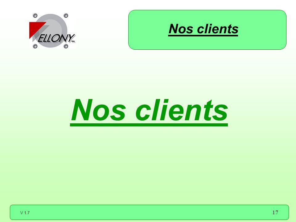 Nos clients Nos clients