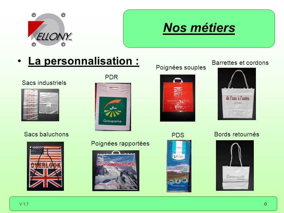 Nos métiers La personnalisation : Barrettes et cordons