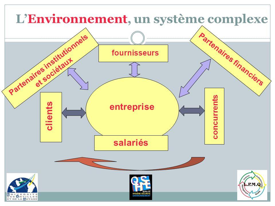 L'Environnement, un système complexe