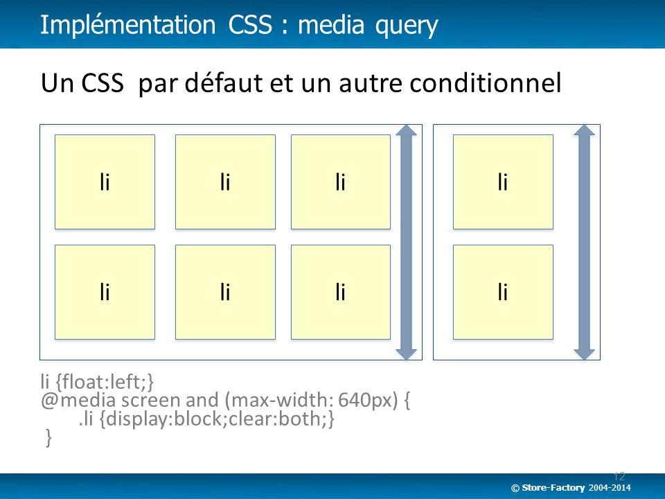 Un CSS par défaut et un autre conditionnel