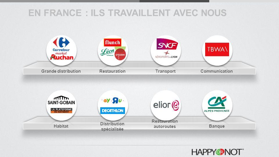 EN FRANCE : ILS TRAVAILLENT AVEC NOUS