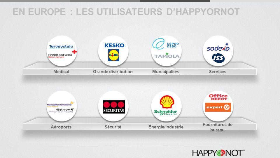 EN EUROPE : LES UTILISATEURS D'HAPPYORNOT