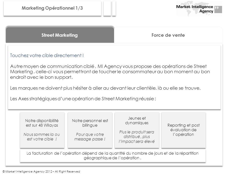Marketing Opérationnel 1/3
