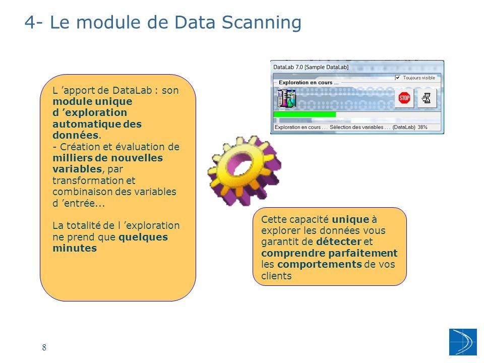 4- Le module de Data Scanning