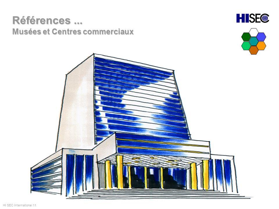 Références ... Musées et Centres commerciaux HI SEC International 11