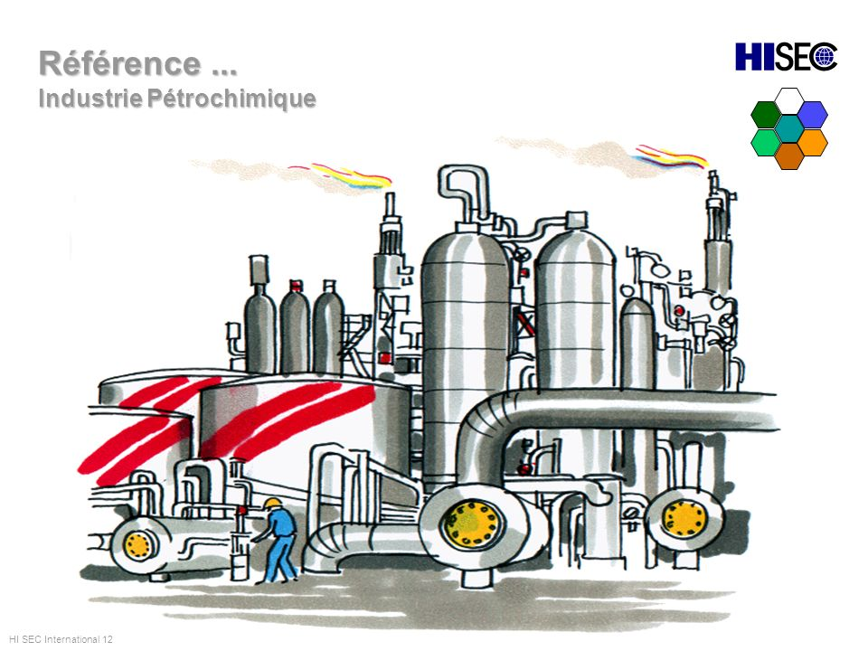Référence ... Industrie Pétrochimique HI SEC International 12