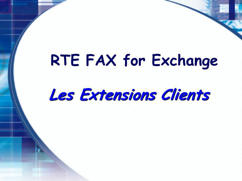 Les Extensions Clients
