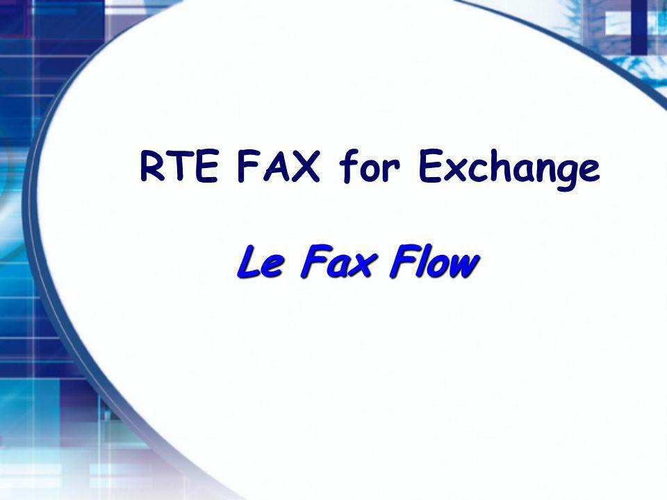 RTE FAX for Exchange Le Fax Flow