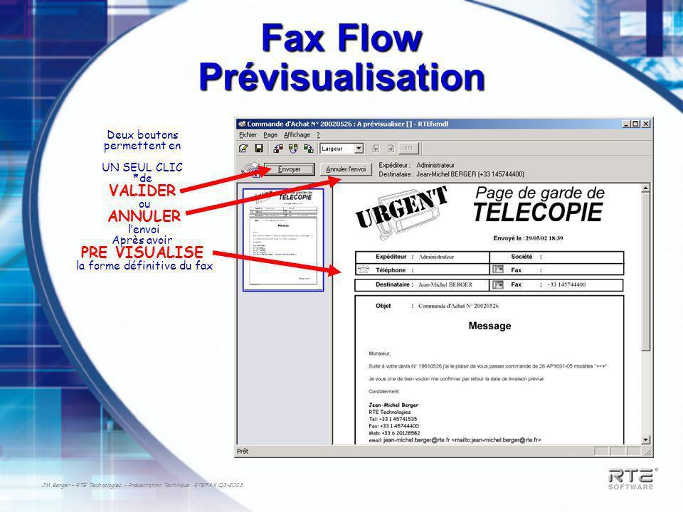 Fax Flow Prévisualisation