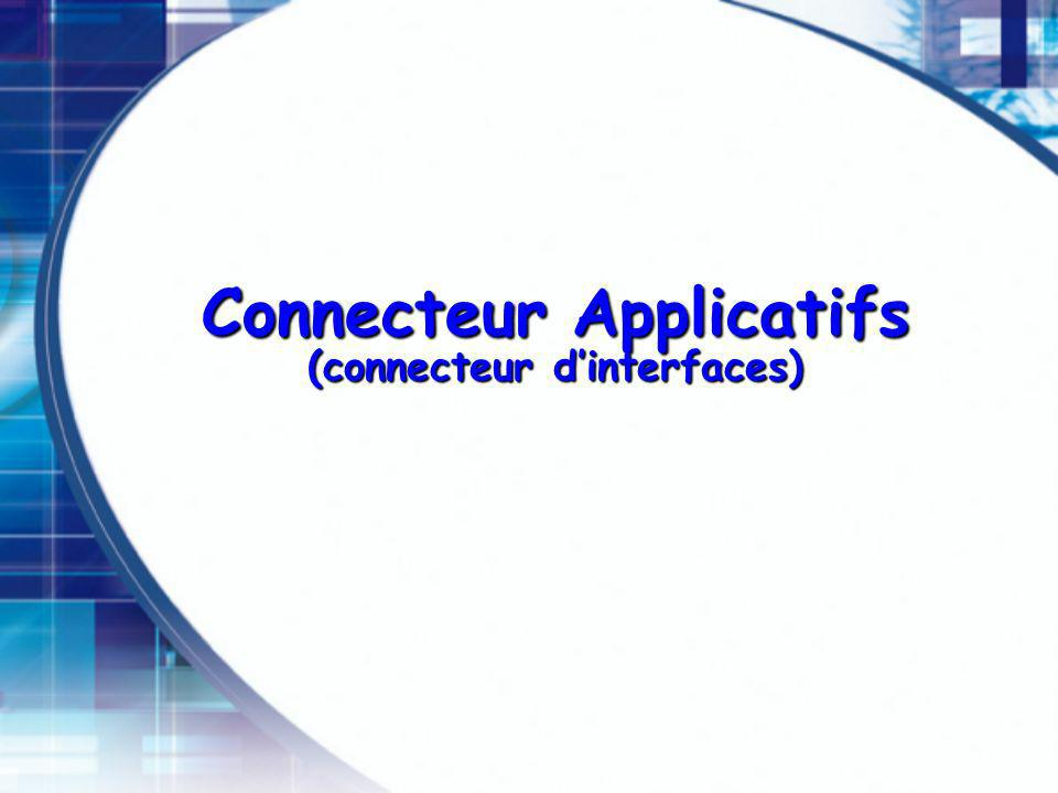 Connecteur Applicatifs (connecteur d'interfaces)
