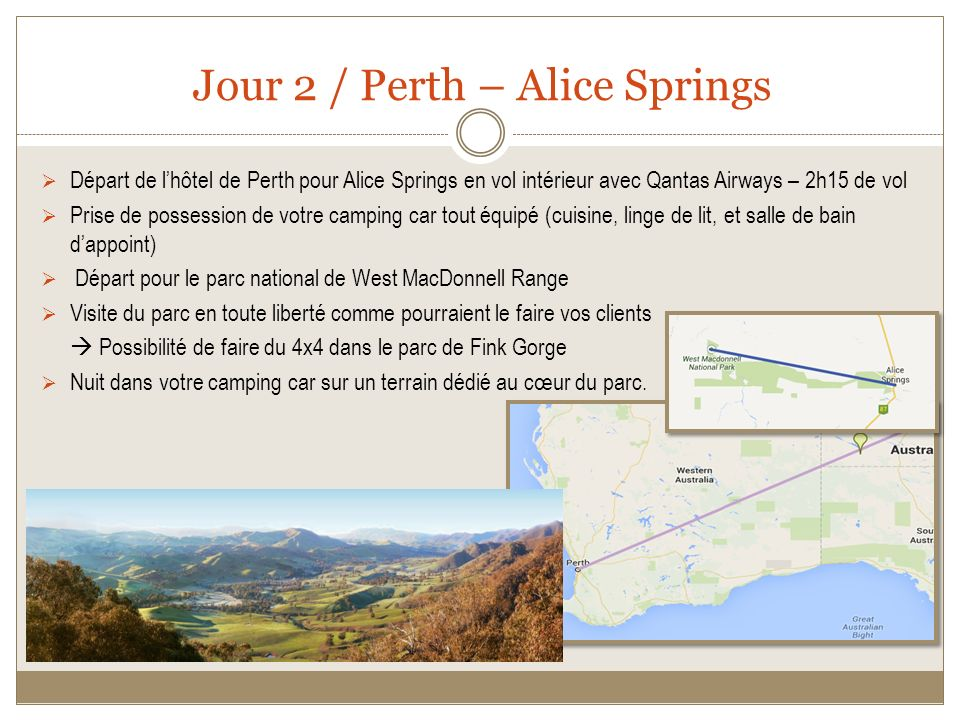 Jour 2 / Perth – Alice Springs