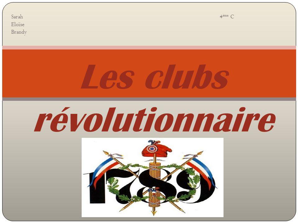 Les clubs révolutionnaire