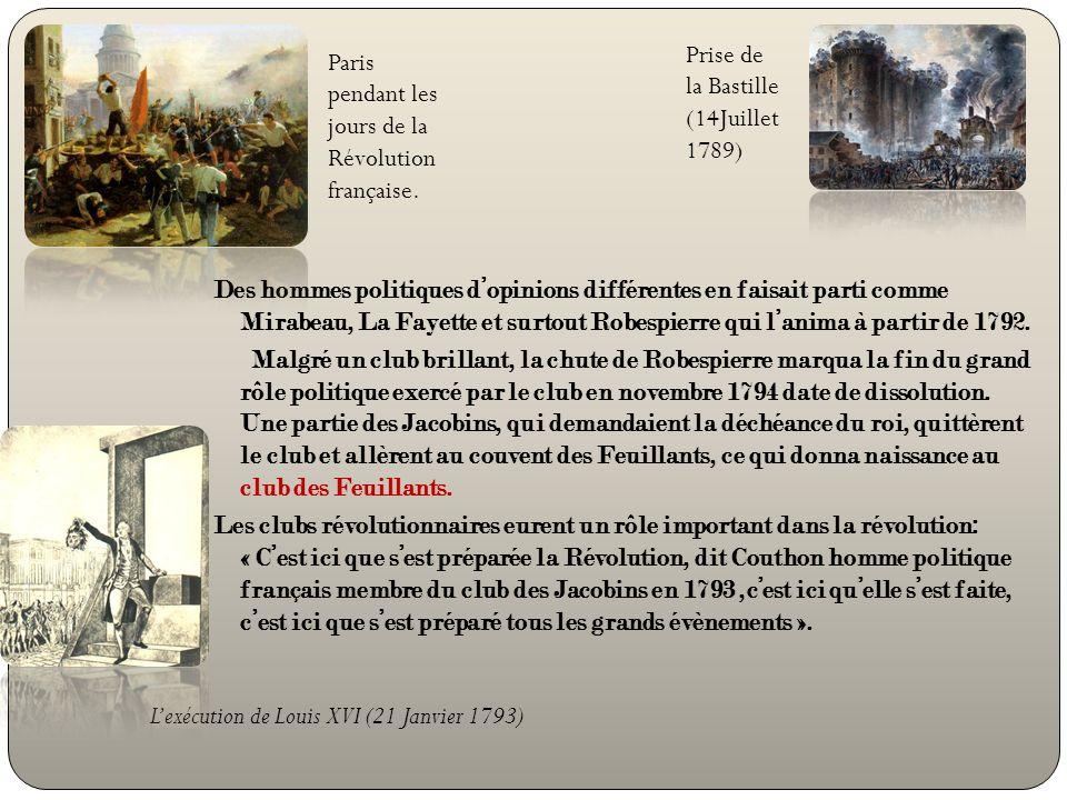 Prise de la Bastille (14Juillet 1789)