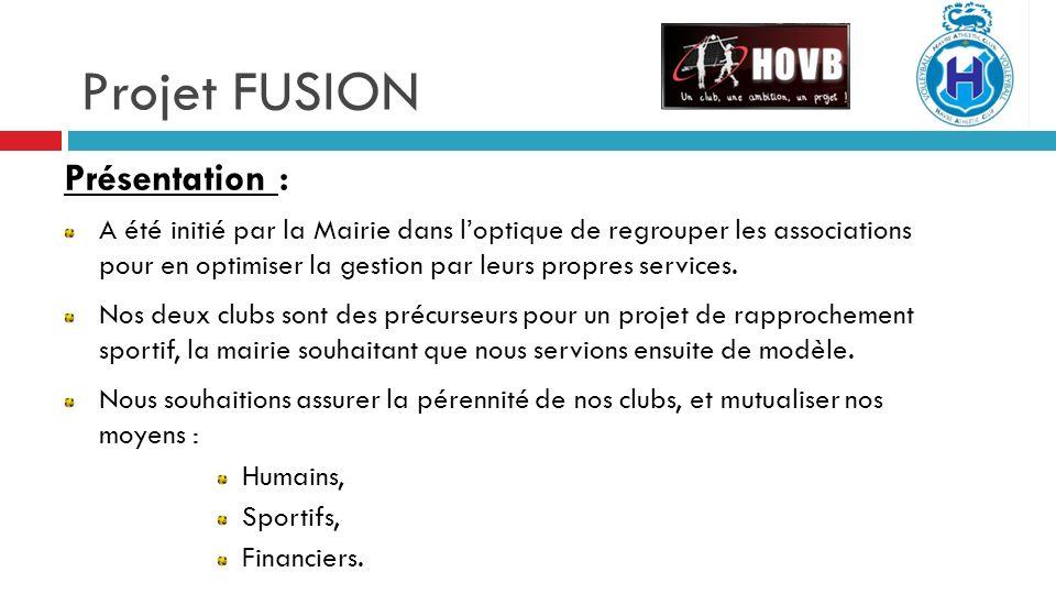 Projet FUSION Présentation :