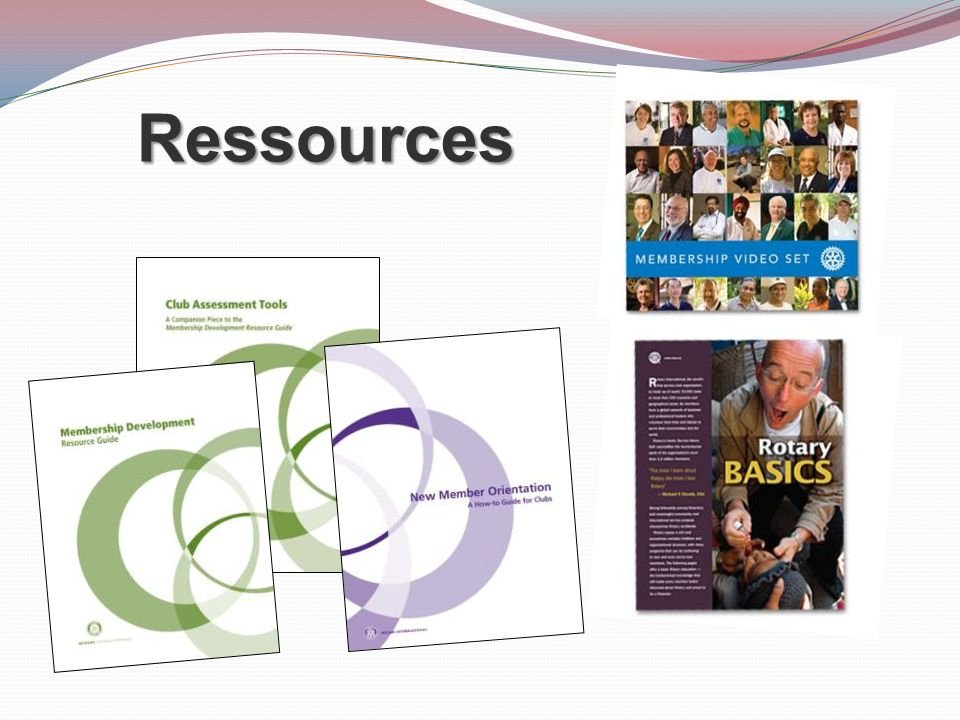 Ressources Do you know where to find these resources