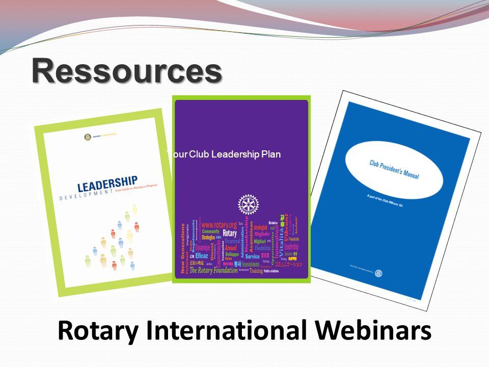 Rotary International Webinars