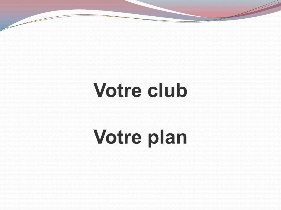 Votre club Votre plan Travaillez ensemble pour comparer les pratiques de votre club à celles décrites dans ce guide.