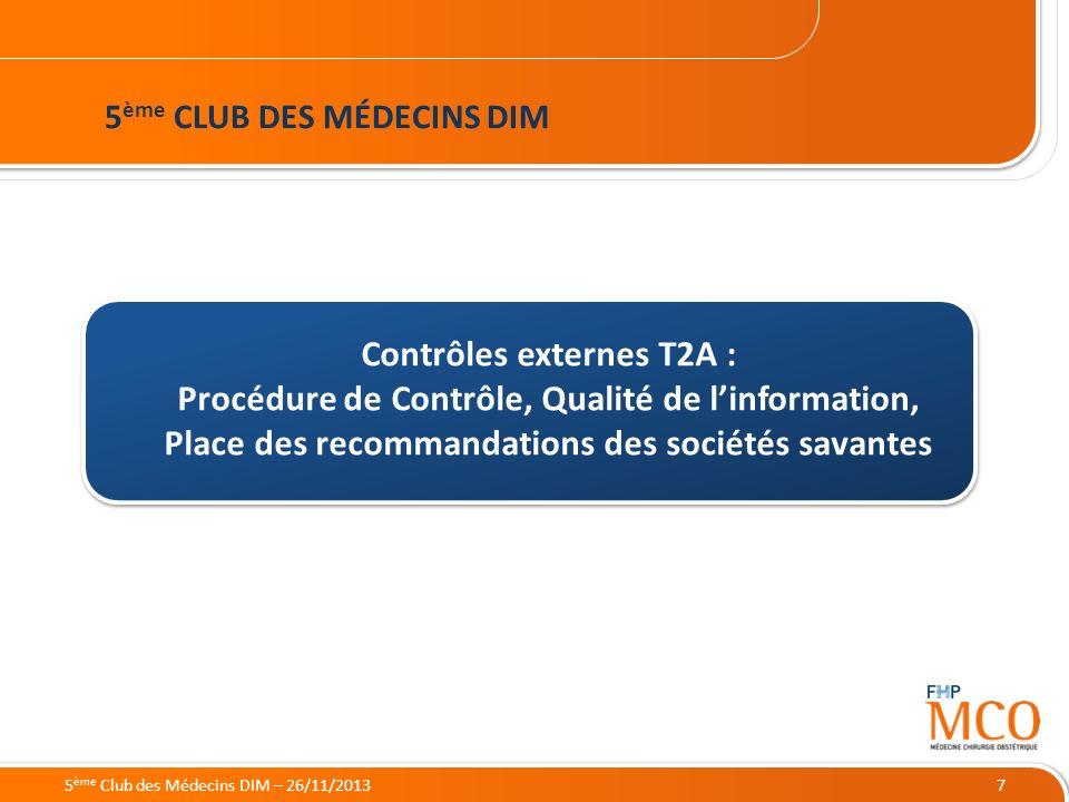 5ème CLUB DES MÉDECINS DIM