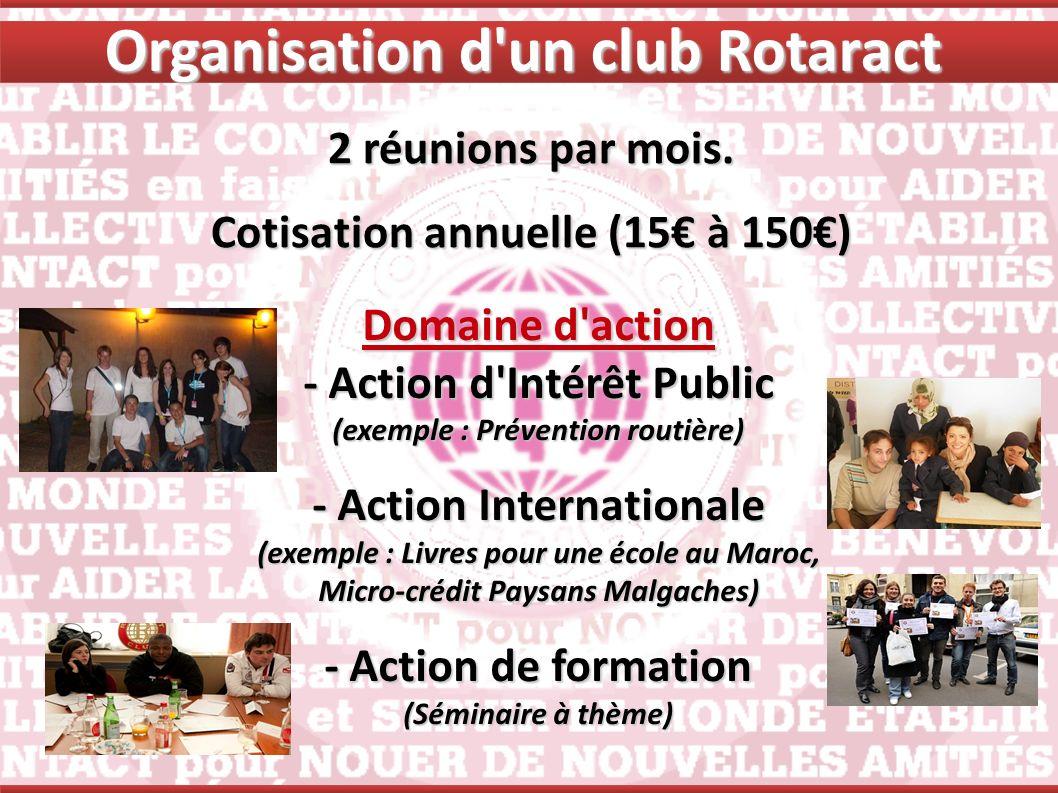 Organisation d un club Rotaract