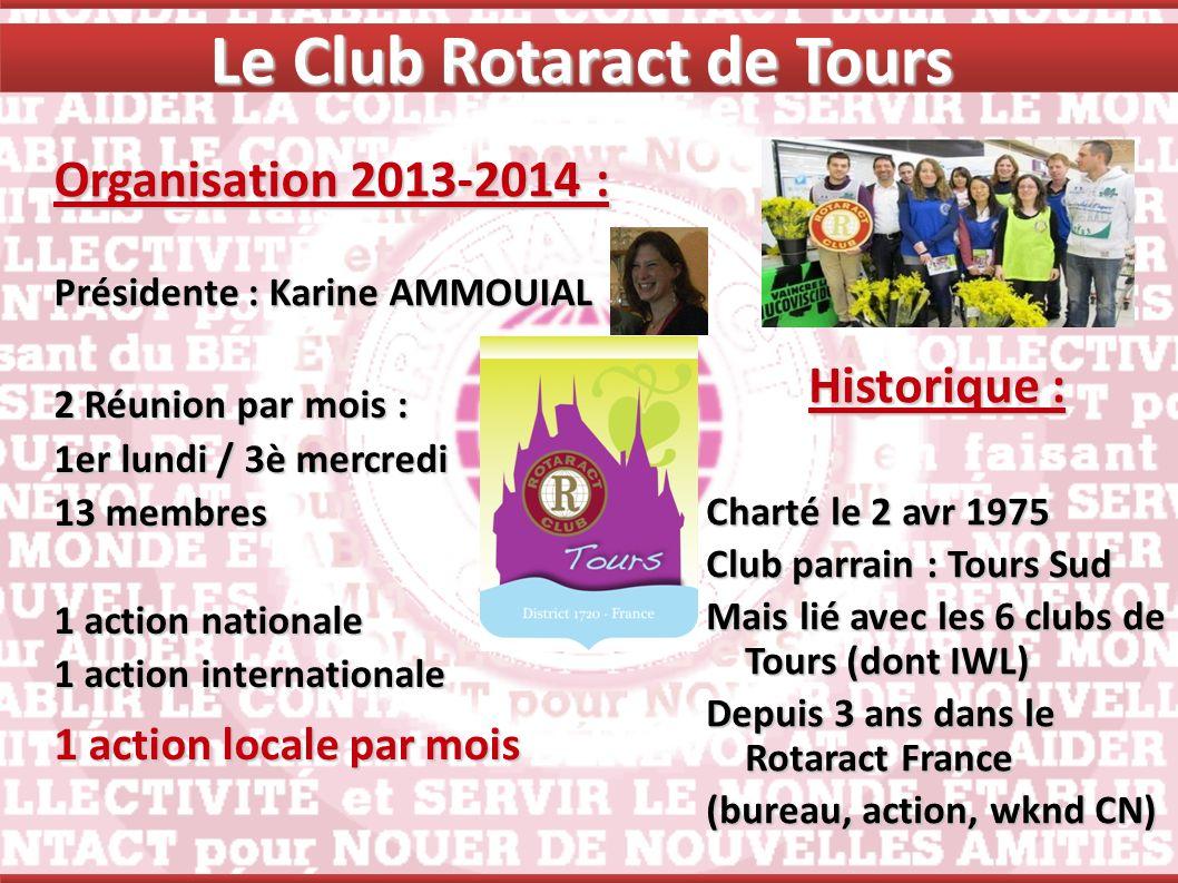 Le Club Rotaract de Tours