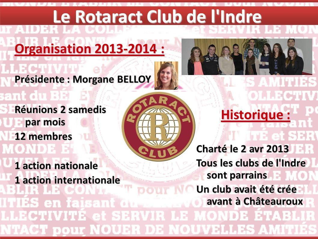 Le Rotaract Club de l Indre