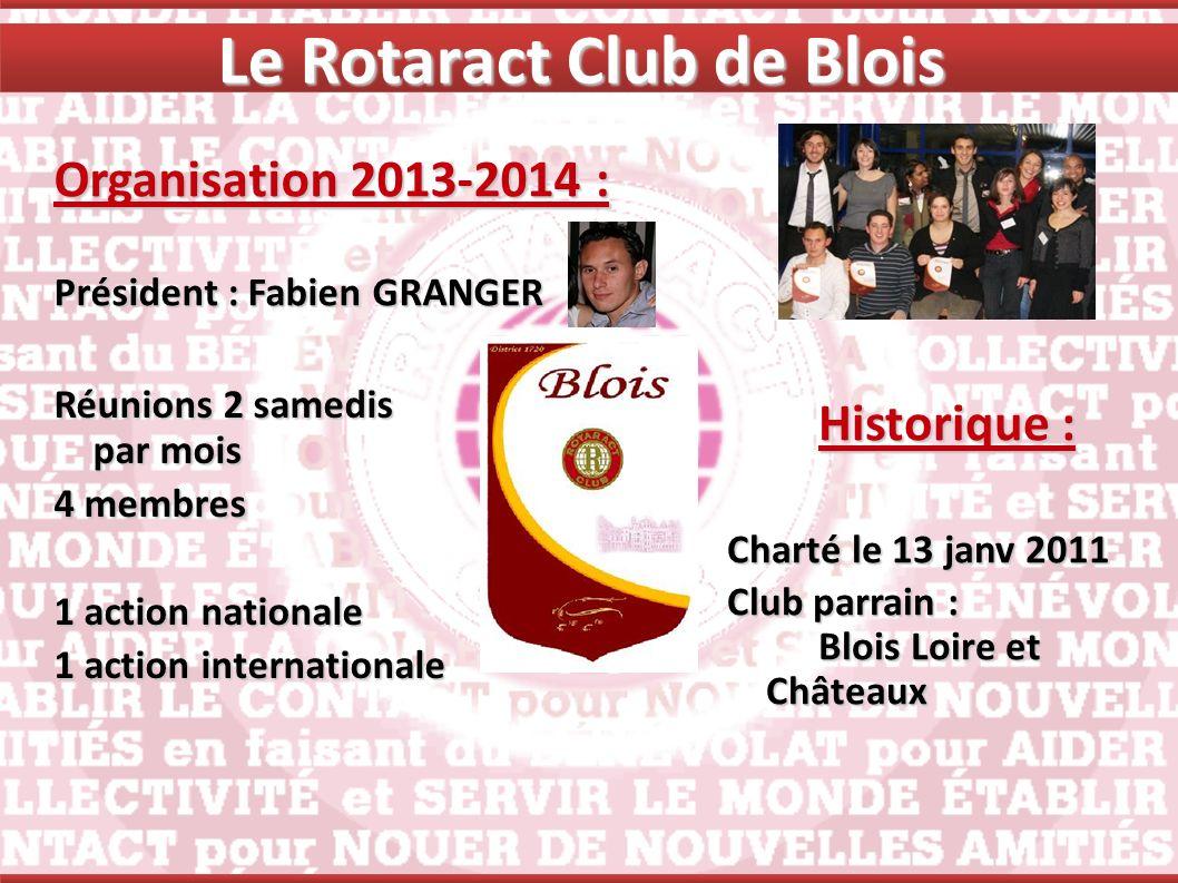 Le Rotaract Club de Blois