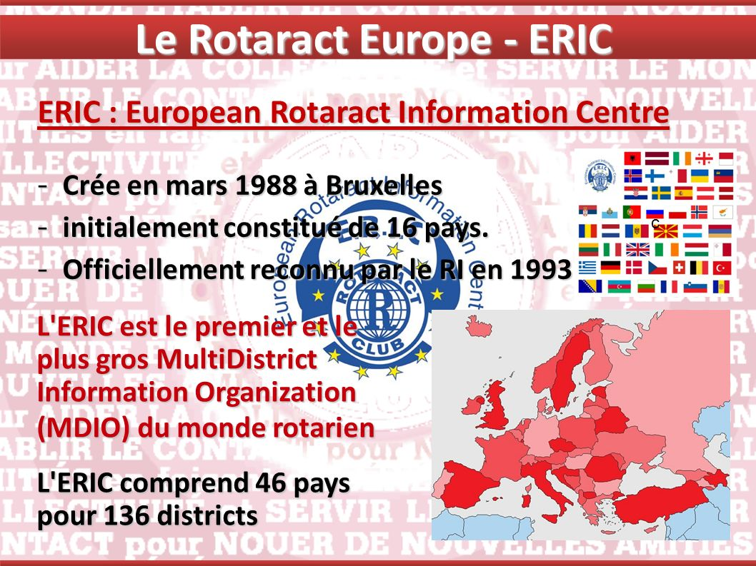 Le Rotaract Europe - ERIC