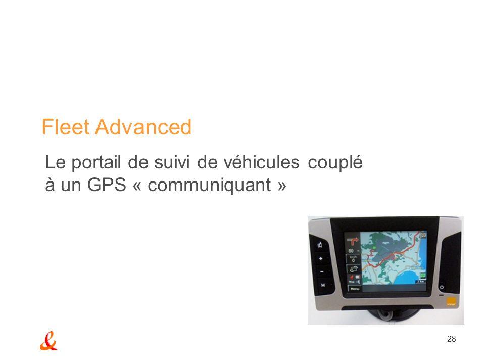Le portail de suivi de véhicules couplé à un GPS « communiquant »