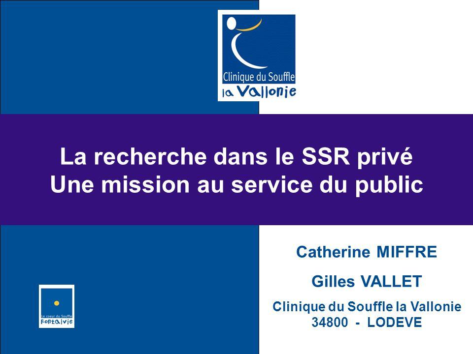 La recherche dans le SSR privé Une mission au service du public