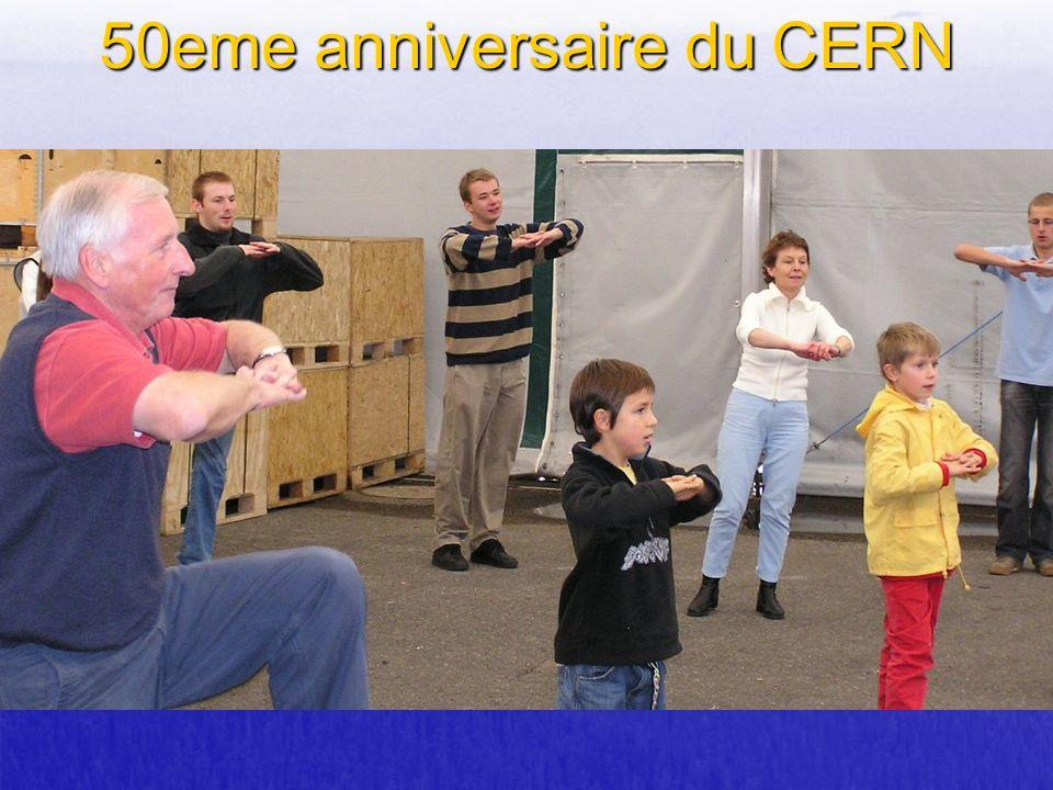 50eme anniversaire du CERN