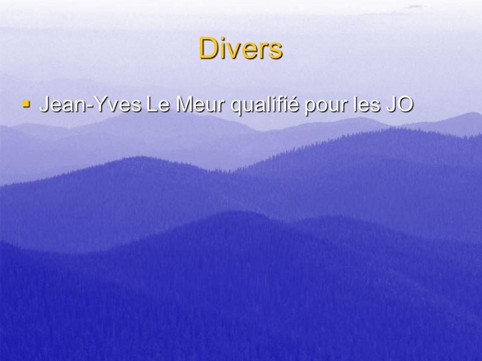 Divers Jean-Yves Le Meur qualifié pour les JO