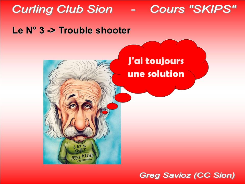 Curling Club Sion - Cours SKIPS