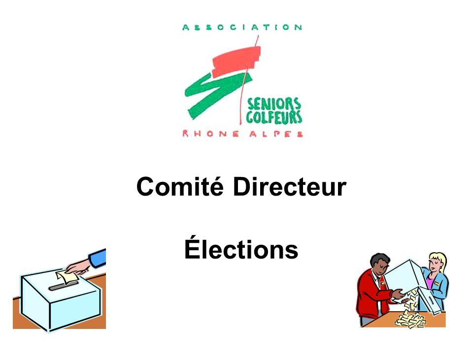 Comité Directeur Élections