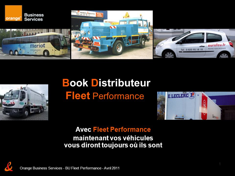 Book Distributeur Fleet Performance