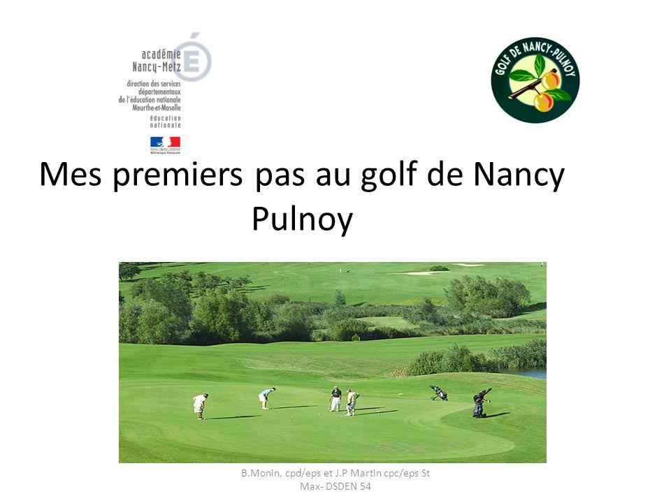 Mes premiers pas au golf de Nancy Pulnoy