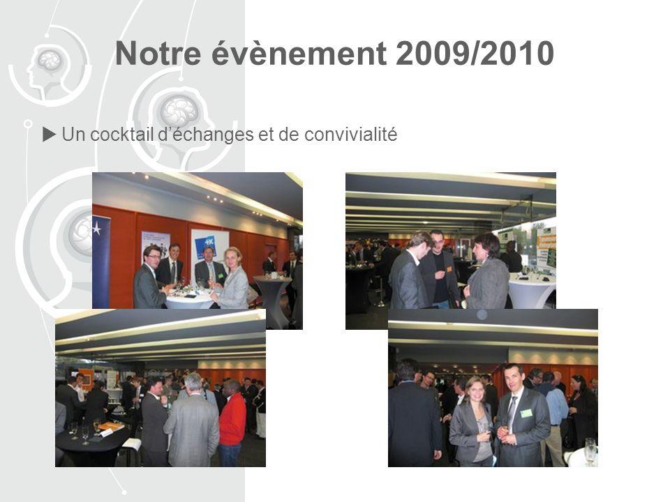 Notre évènement 2009/2010 Un cocktail d'échanges et de convivialité
