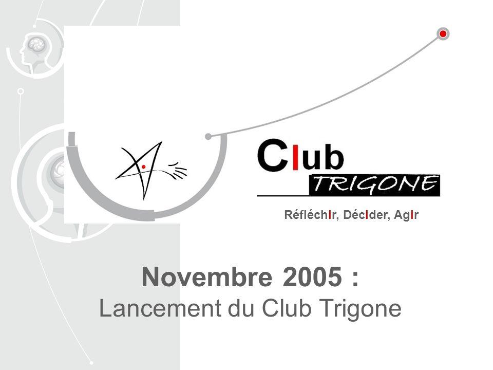 Novembre 2005 : Lancement du Club Trigone