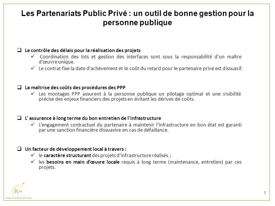 Les Partenariats Public Privé : un outil de bonne gestion pour la personne publique