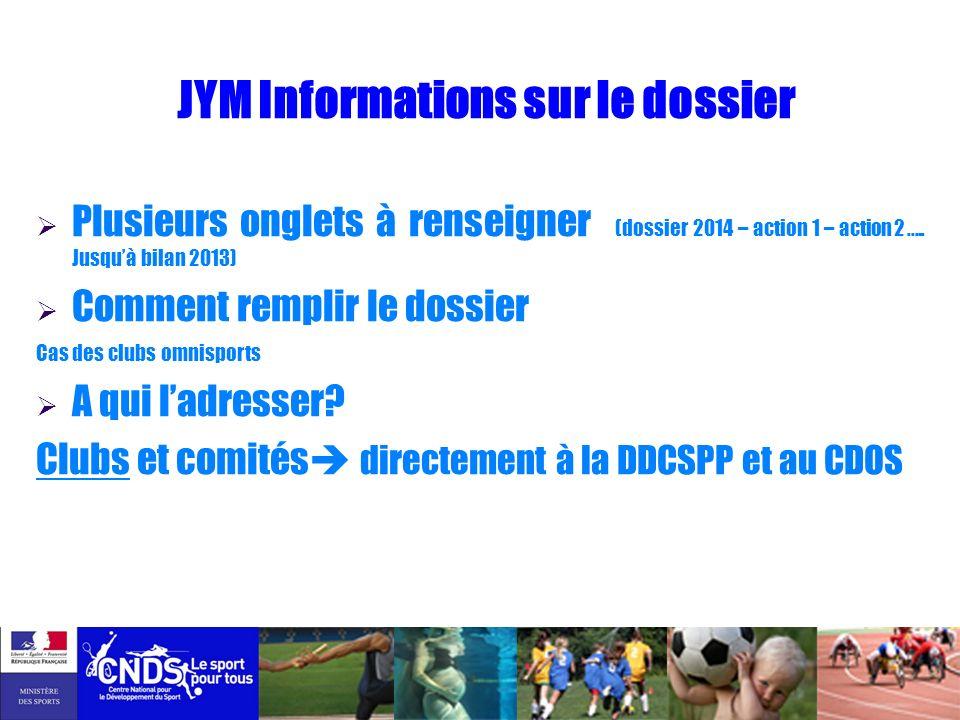 JYM Informations sur le dossier