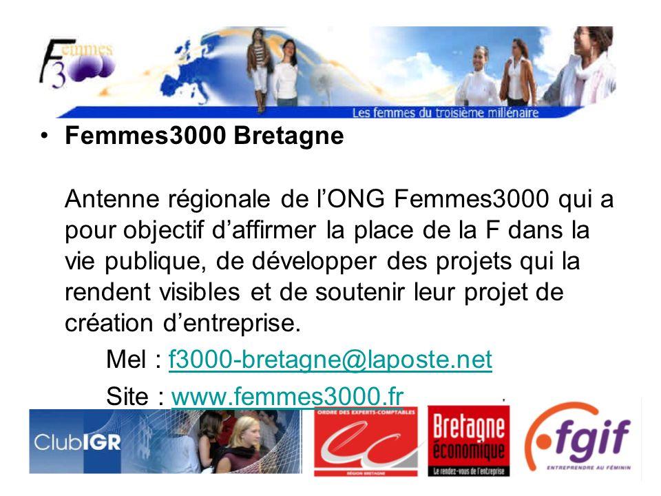 Femmes3000 Bretagne