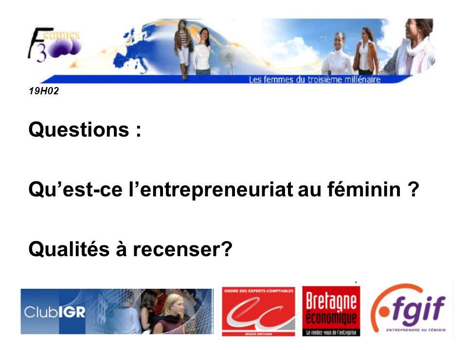Qu'est-ce l'entrepreneuriat au féminin Qualités à recenser