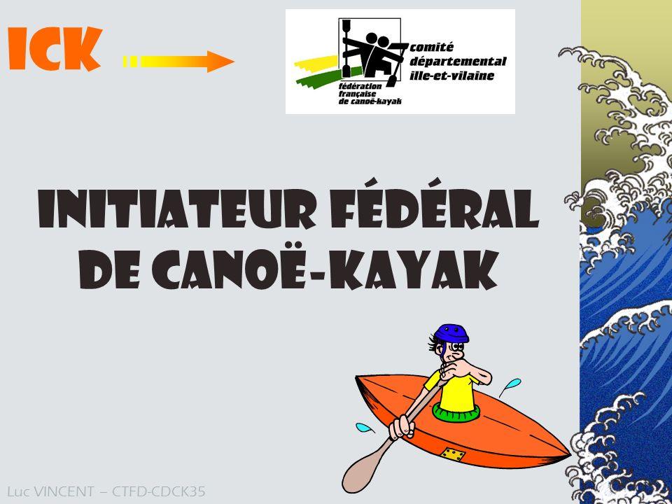 Initiateur Fédéral de Canoë-Kayak